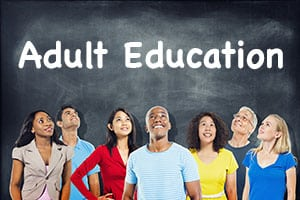 Adult Education Offerings Please click on the picture for more details.