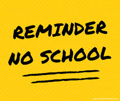 2:00 Dismissal on Wednesday Oct 16. No School Oct 17-18.  See everyone on Monday!